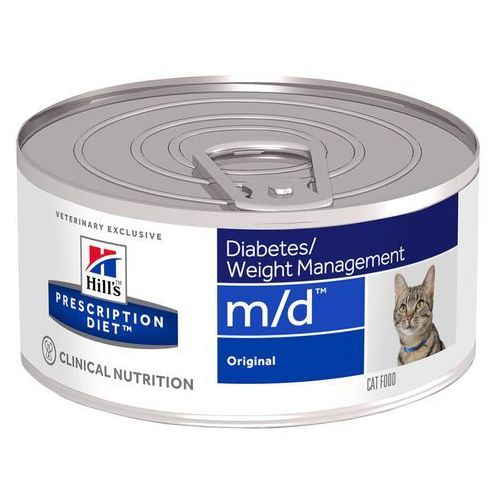 feline m/d diabetes weight management - 12 x 156 g marki Hills prescription diet
