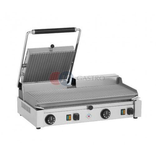 Grill kontaktowy elektryczny podwójny góra i dół ryflowane Red Fox PD - 2020 RSL, PD - 2020 RSL