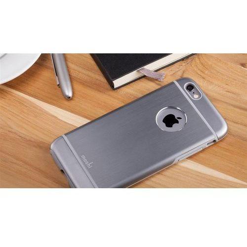 Moshi iglaze armour - etui iphone 6 z folią na obudowę w zestawie (szary) odbiór osobisty w ponad 40 miastach lub kurier 24h