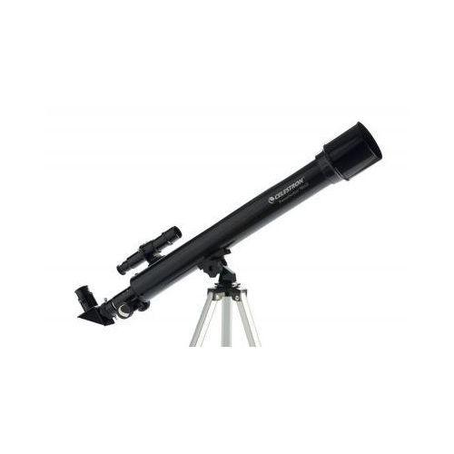 Teleskop astronomiczny powerseeker + statyw + akcesoria + płyta cd-rom. marki Celestron