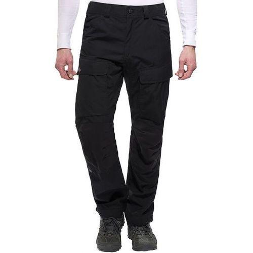 Lundhags Authentic Spodnie długie Mężczyźni Regular czarny 46 2018 Spodnie turystyczne, poliester