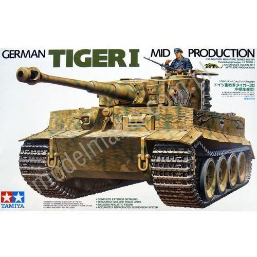 TAMIYA German Tiger I Mid Production - Tamiya