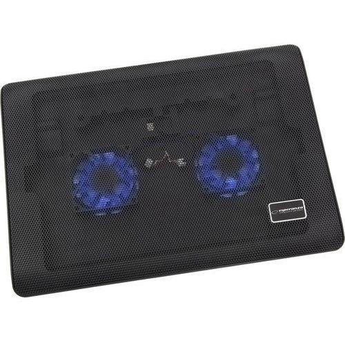 Podstawka chłodząca do laptopa 15.6 cali tivano czarny marki Esperanza