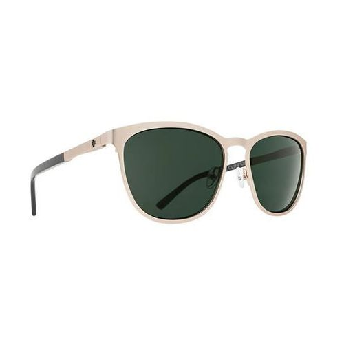 Okulary Słoneczne Spy CLIFFSIDE Cliffside Matte Gold/Gloss Black - Happy Gray Green, kolor zielony