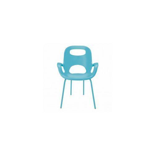 Krzesło OH Umbra niebieskie, kolor niebieski