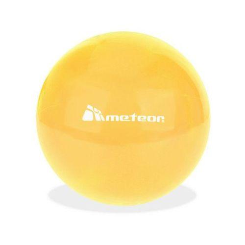 Piłka gumowa 20 cm orange - pomarańczowy marki Meteor