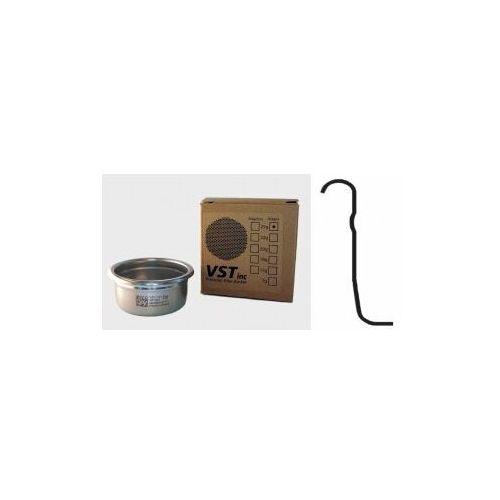 Precyzyjny filtr ze stali nierdzewnej do espresso vst 25 gram - standardowy (z wypustką z boku) marki Vst inc