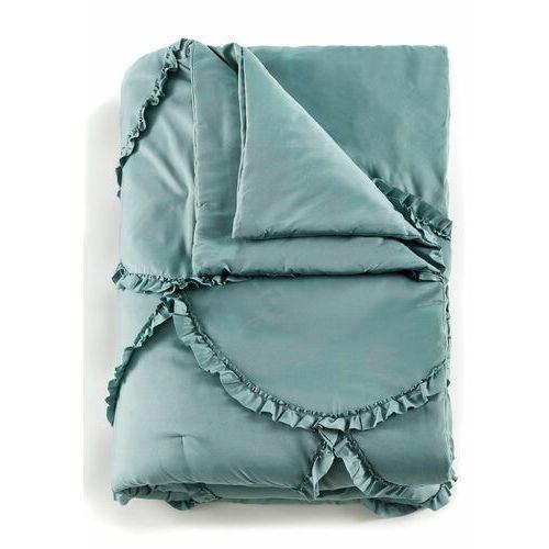 Bonprix Narzuta na łóżko z aplikacją szałwiowy