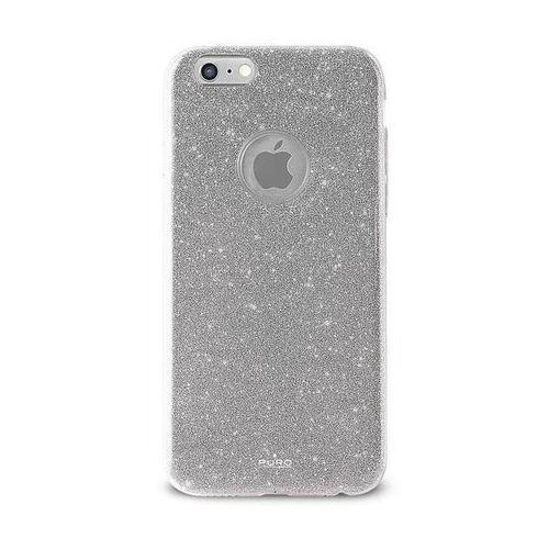 Puro Etui glitter shine cover do iphone 6/6s srebrny (8033830159510)