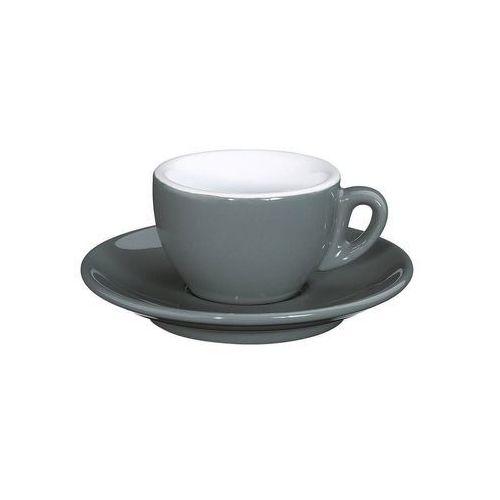 Cilio - roma - filiżanka do espresso, 50 ml, szara - szary (4017166215229)