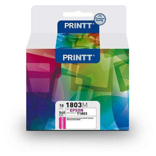 Ntt system Tusz printt do epson nae1803m (t1803) magenta 10 ml