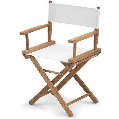 Krzesło Director's Chair materiał sztuczny
