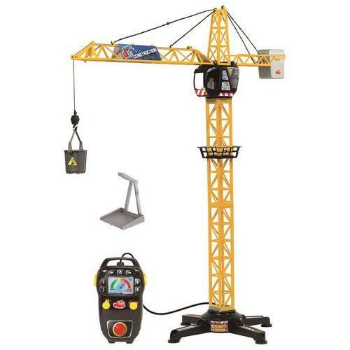 Dickie toys Dickie dźwig gigant z dźwiękiem, 100 cm (4006333024498)