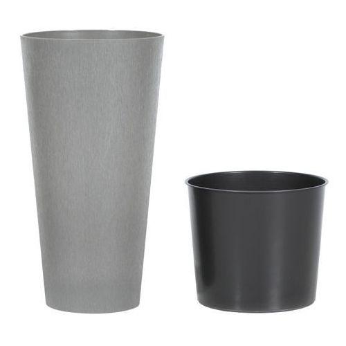 Doniczka tubus slim beton : średnica - 200 mm, kolor - beton marki Prosperplast