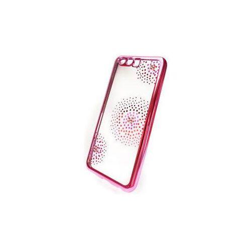 Obudowa dla telefonów komórkowych Beeyo Flower Dots pro Huawei P10 (BEAHUP10TPUFLPI) Różowy