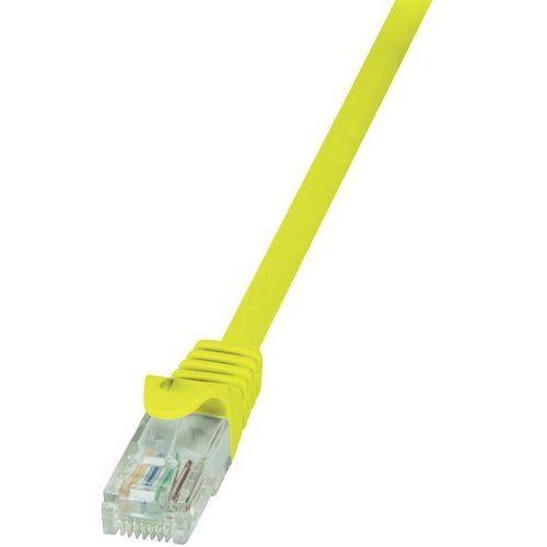 Logilink Patchcord cp2097u cat.6 u/utp 10m, żółty (4052792024241)