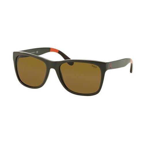 Okulary słoneczne ph4106 pop color 557073 marki Polo ralph lauren