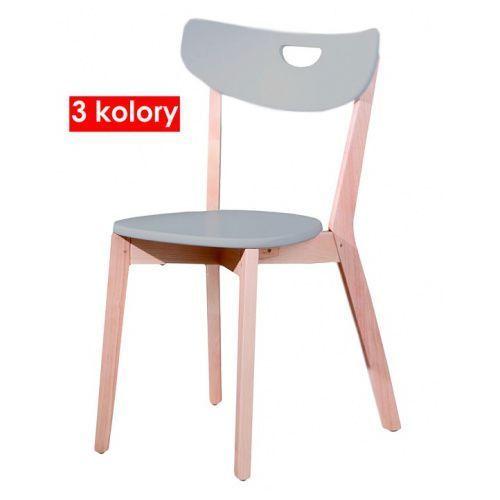 Skandynawskie krzesło drewniane Pepper - 3 kolory