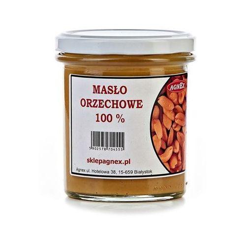 Agnex masło orzechowe 100% - 350g