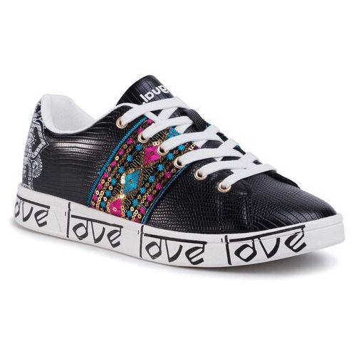 Sneakersy - shoes cosmic exotic indian 20sskp26 2000, Desigual, 36-41