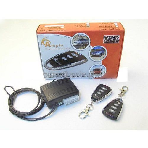Ampio CHROM 433MHz alarm samochodowy (5909182397630)