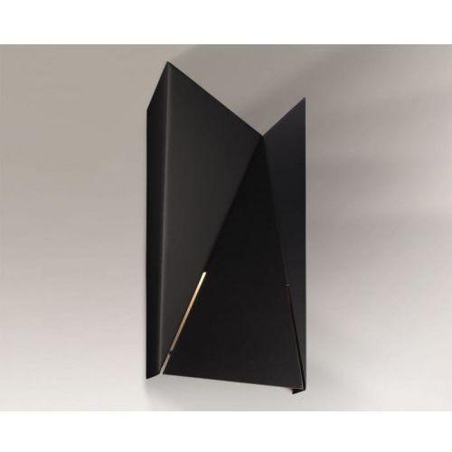Agi Kinkiet Shilo 4424/G9/CZ 30cm czarny