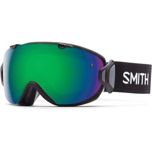Smith Gogle snowboardowe - i/os black green sol-x mirror (99c5) rozmiar: os