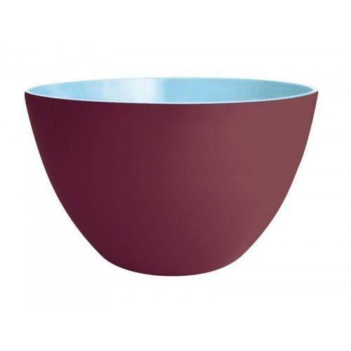 Zak! designs Miska duo 22 cm, kasztanowo-niebieska zak! design