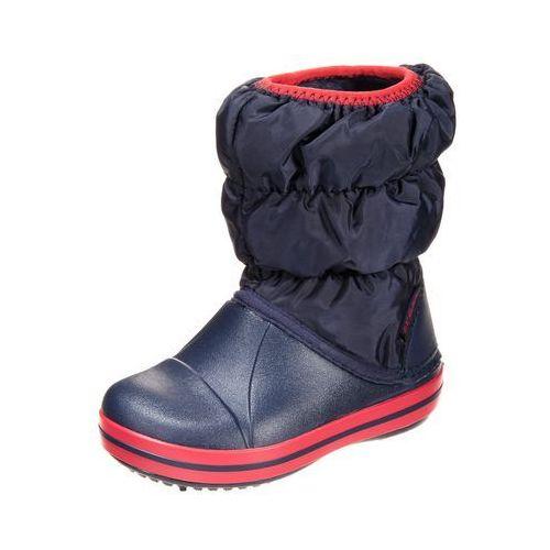 Crocs Winter Puff Kozaki Dzieci czerwony/niebieski 29-30 Kozaki sportowe (0883503940918)