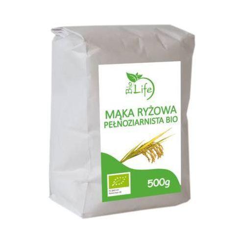 500g mąka ryżowa pełnoziarnista bio marki Biolife