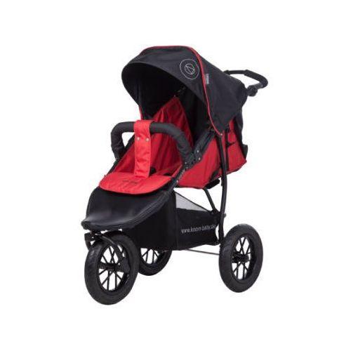 wózek sportowy joggy s happy colour czerwony marki Knorr-baby