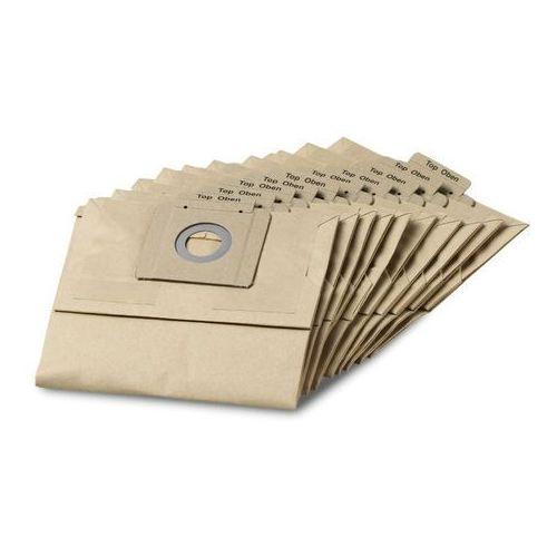 Karcher Papierowe worki filtracyjne (10 szt.) do modeli t 12/1 ( 6.904-312.0), polska dystrybucja! (4002667803686)