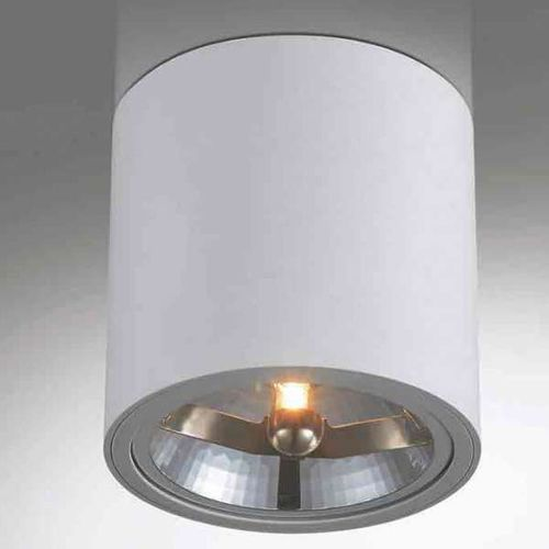 Spot LAMPA sufitowa NEO bianco Orlicki Design metalowa OPRAWA downlight tuba biała, NEO bianco