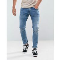 Tom tailor slim jeans in light wash - blue