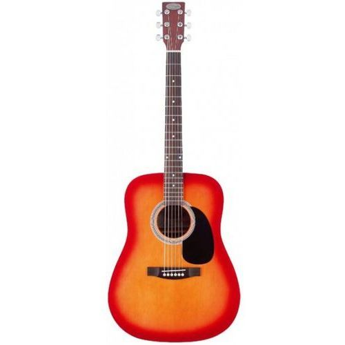 Stagg SW207 CS PACK gitara akustyczna z wyposażeniem