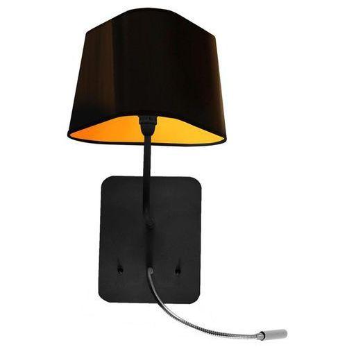 PETIT NUAGE - kinkiet z lampą do czytania LED Żółty/Czarny, Ampnlednj