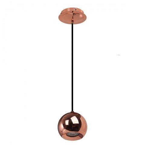 Miedziana LAMPA wisząca JAMES FH5951-BCB-120 RC Italux metalowa OPRAWA halogenowy ZWIS kula ball miedź, FH5951-BCB-120 RC