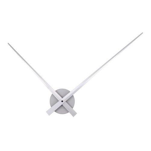 :: zegar ścienny little big time srebrny - srebrny marki Karlsson