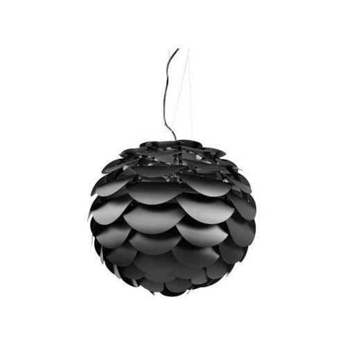 Lampa sufitowa wisząca - żyrandol czarny - oświetlenie - MOSELLE, kolor Czarny