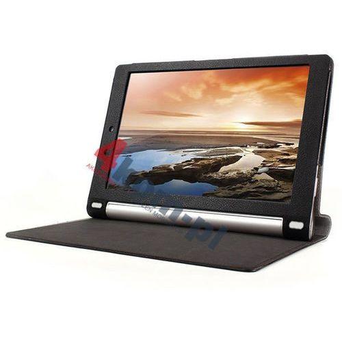 3w1 Etui na magnes do Lenovo Yoga 10.1' 1050F 1050L + Folia + ściereczka - Czarny