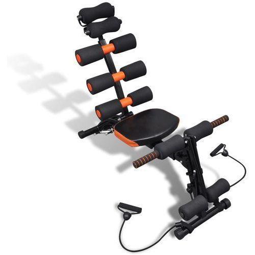 vidaXL Regulowany przyrząd do ćwiczenia mięśni brzucha w kształcie litery L (8718475880523)