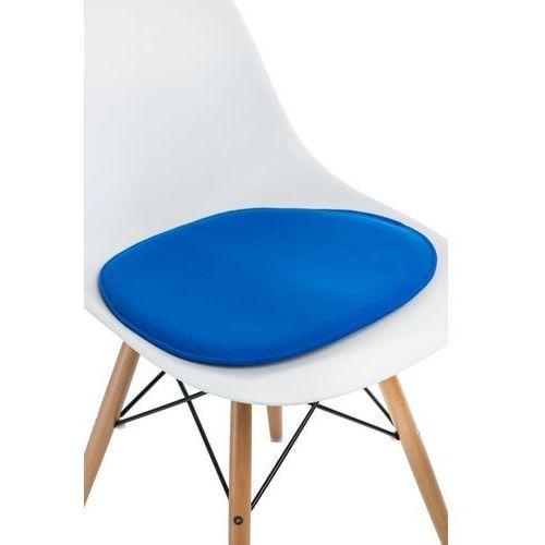 Poduszka na krzesło Side Chair niebieska, T_2b9e1a9d-2119-4a6c-8da1-69fbf7b6e482
