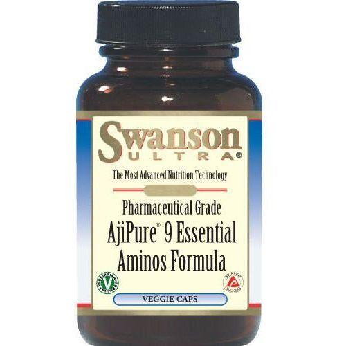 AjiPure Kompleks 9 aminokwasów 60kaps (zwiększanie masy)