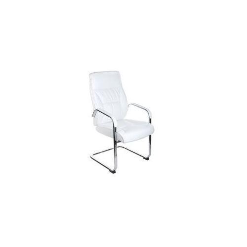 Beauty system Fotel konferencyjny corpocomfort bx-5085c biały