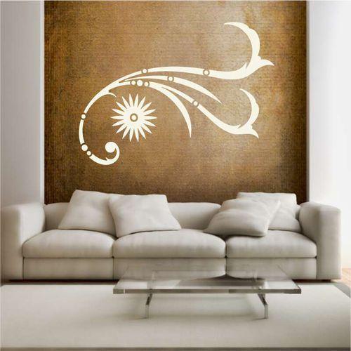 Wally - piękno dekoracji Szablon malarski motyw dekoracyjny 2223