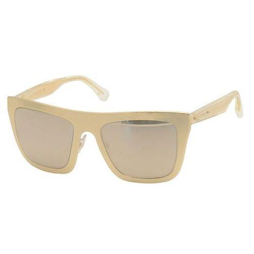 Okulary Słoneczne Dolce & Gabbana DG2114K Gold Project 1027F9, kolor żółty