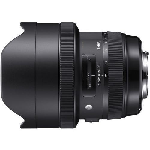 a 12-24 mm f/4.0 dg hsm / nikon marki Sigma