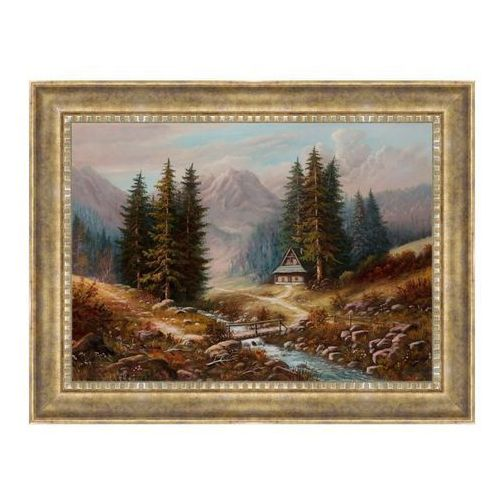 Obraz Mostek malarstwo 50 x 70 cm (5901554524538)