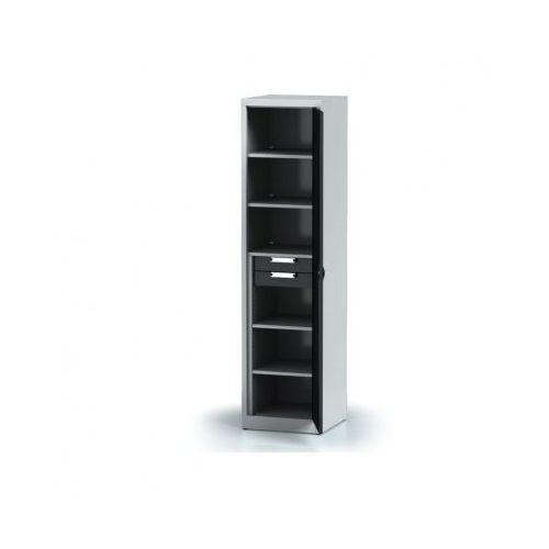 Szafa warsztatowa - 5 półek, 2 szuflady marki Alfa 3