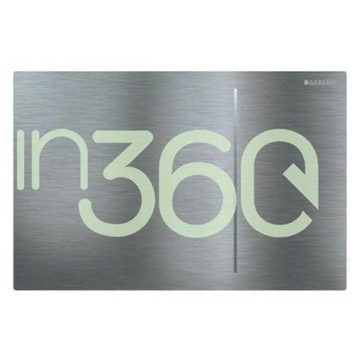 Geberit sigma70 przycisk uruchamiający, przedni, 8cm, stal nierdz. 115.625.fw.1